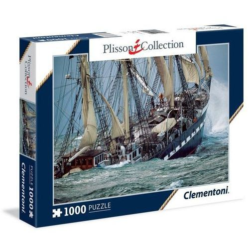 Clementoni Puzzle plisson collection belem, the last french tall ship 1000