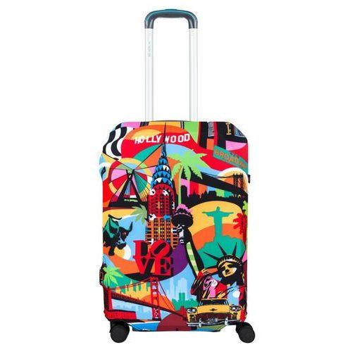 BG Berlin pokrowiec na średnią walizkę / rozmiar M / American Way - American Way