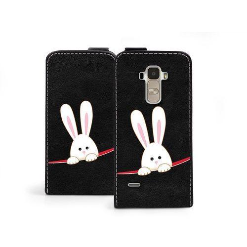 Flip Fantastic - LG G4 Stylus - etui na telefon Flip Fantastic - biały królik - sprawdź w wybranym sklepie