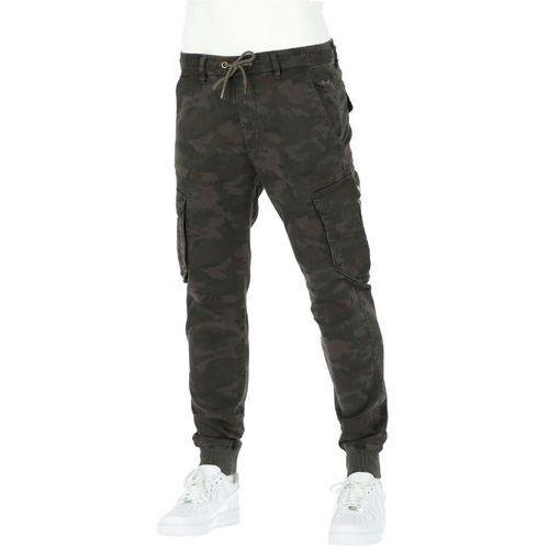 spodnie REELL - Reflex Rib Cargo Black Camo (BLACK CAMO) rozmiar: L normal, kolor czarny