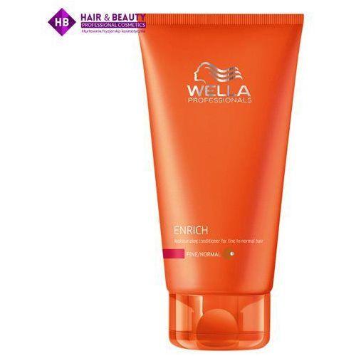 enrich odżywka nawilżająca do włosów cienkich i normalnych, 200ml marki Wella