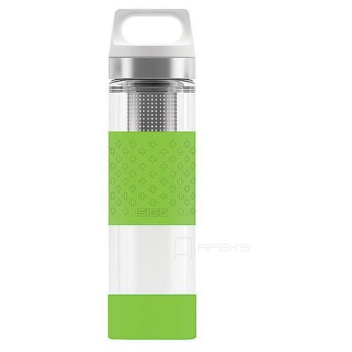 Sigg thermo hot&cold glass wmb szklany kubek / termos 0.4l / zielony - green