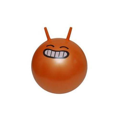 Dziecięca piłka fitness do skakania jumping ball 45 cm, pomarańczowy marki Lifefit