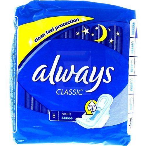 ALWAYS 8szt. Classic Night Podpaski
