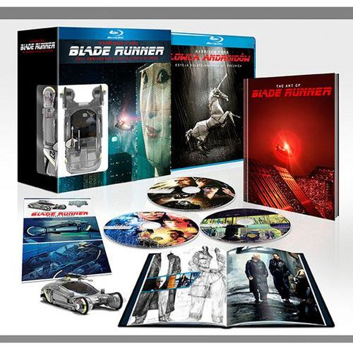 Łowca Androidów: Edycja Jubileuszowa 30. Rrocznica - wydanie kolekcjonerskie (3Blu-Ray) (Blade Runner) - Ridley Scott DARMOWA DOSTAWA KIOSK RUCHU (7321999323141)