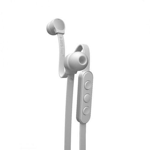 a-jays four+ apple biały - słuchawki z nieplączącym się kablem i pilotem | zapłać po 30 dniach | gwarancja 2-lata marki Jays