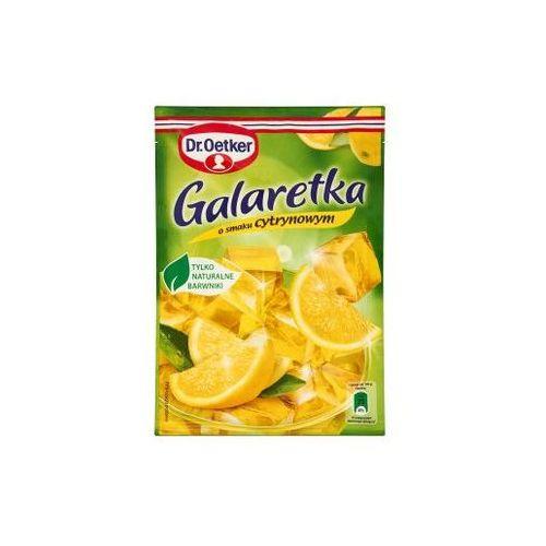 Galaretka o smaku cytrynowym 77 g Dr. Oetker