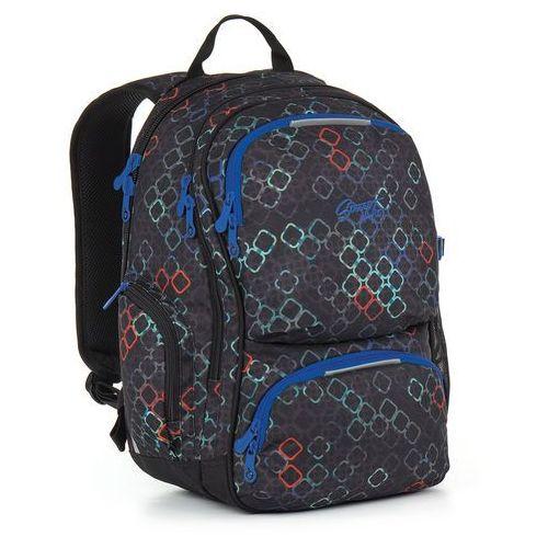 Plecak młodzieżowy Topgal HIT 887 A - Black, kolor czarny