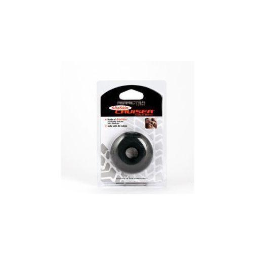 Fat Boy SilaSkin Cruiser Ring czarny - produkt z kategorii- Nakładki i pierścienie erotyczne