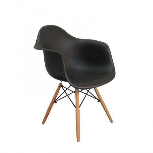 Krzesło nicea - czarny marki Gockowiak