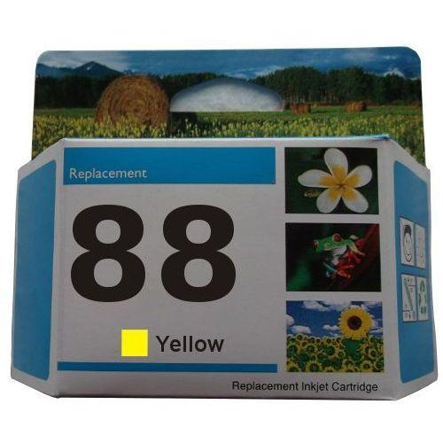 zastępczy atrament HP 88XL [c9393ae] yellow 100% nowy