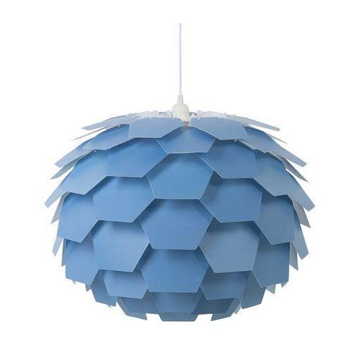 Lampa wisząca niebieska SEGRE duża, kolor Niebieski