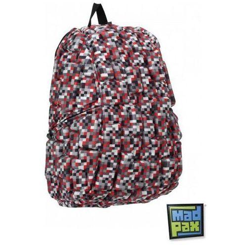 MADPAX Plecak Blokowy Laptonos - Digital Red, kolor czerwony