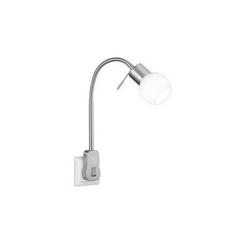 Trio FRED 891770107 lampa do kontaktu lampka 1x3,5W G9 nikiel/biały (4017807358162)