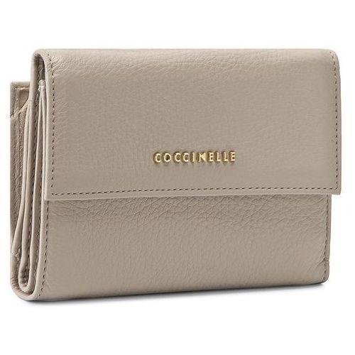 Duży portfel damski - aw5 metallic soft e2 aw5 11 66 01 seashell 143 marki Coccinelle