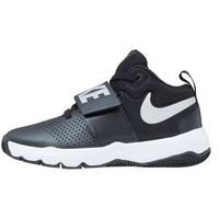 Nike Performance TEAM HUSTLE D 8 Obuwie do koszykówki black/metallic silver/white