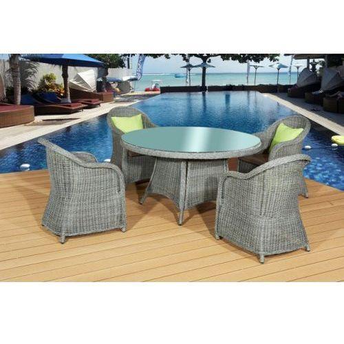Bello giardino Zestaw mebli stołowych forte 4 krzesła
