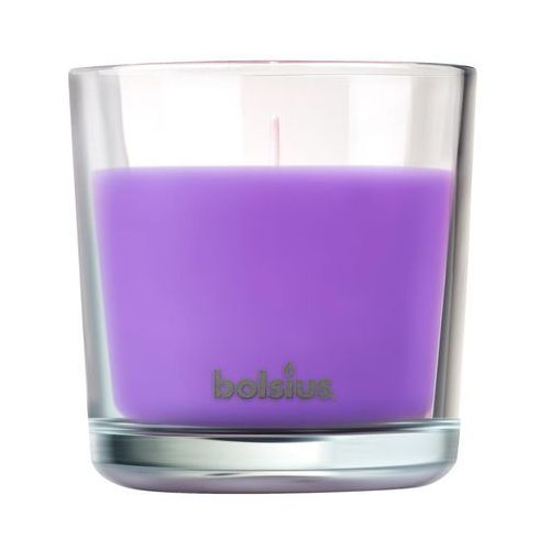 Świeca zapachowa w szkle TRUE SCENTS lawenda BOLSIUS (8717847136602)