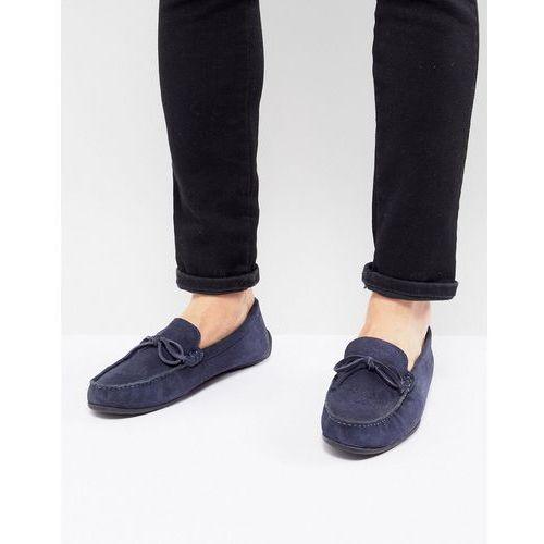 Kg by kurt geiger ringwood driving shoes in suede - blue, Kg kurt geiger