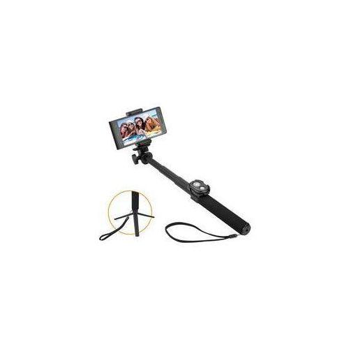 Selfie kijek 5 teleskopowy, bluetooth, czarny marki Gogen