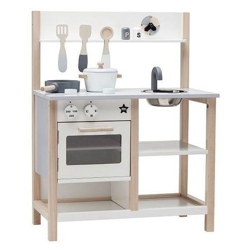 Kids concept Kuchnia drewniana - biała kc1000161 (7340028726593)