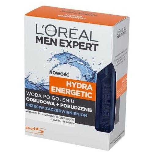, men expert. hydra energetic. woda po goleniu, przeciw zaczerwienieniom, 100 ml - l'oreal paris marki L'oreal paris