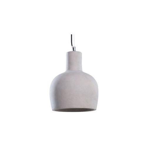 Beliani Lampa wisząca betonowa szara innoko (4260580922338)
