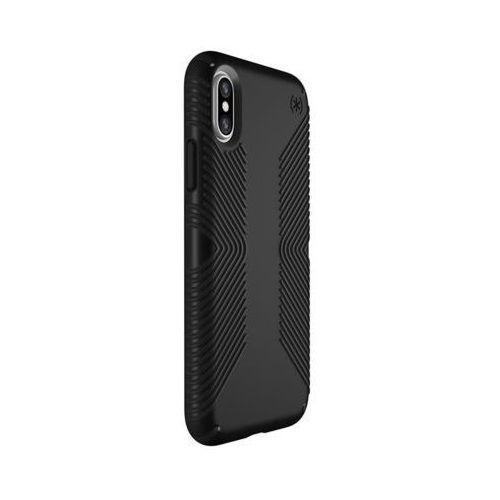 Etui SPECK Presidio Grip do iPhone XS Max Czarny, kolor czarny