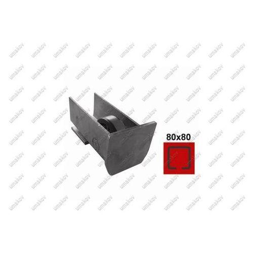 Umakov Rolka najazdowa zn, profile 80x80, l145mm