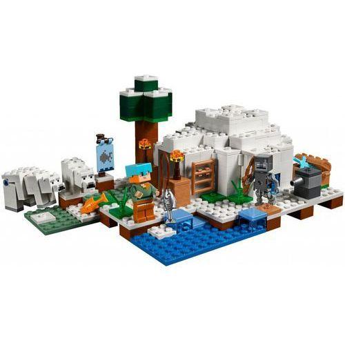 21142 IGLOO NIEDŹWIEDZIA POLARNEGO (The Polar Igloo)- KLOCKI LEGO MINECRAFT rabat 5%