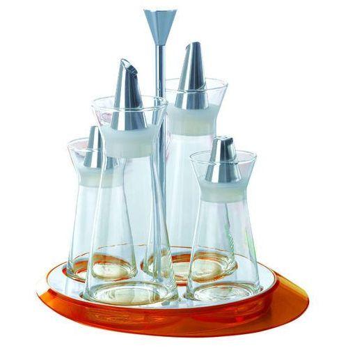 Casa Bugatti - Glamour - zestaw do przypraw - pomarańczowy - pomarańczowy