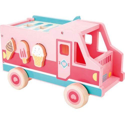 Autko z lodami - zabawka typu sorter