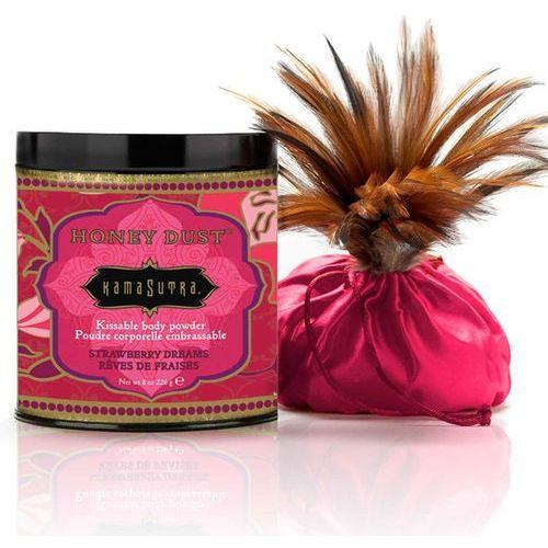Pyłek do ciała bez talku - pochłania wilgoć ze skóry - kama sutra honey dust truskawka 170gram marki Kamasutra