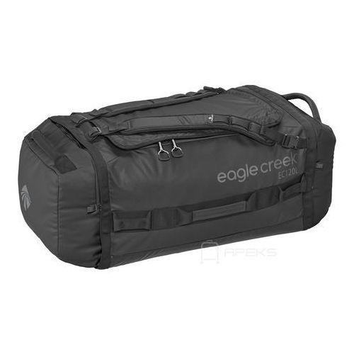 Eagle creek cargo hauler duffel 120l torba podróżna składana 80 cm / plecak / black - black