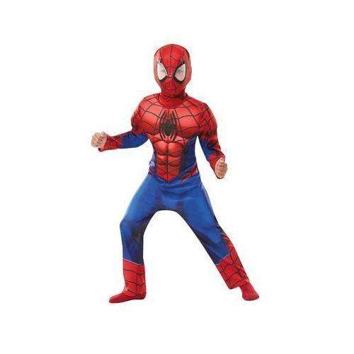 Kostium deluxe spiderman z mięśniami dla chłopca - roz. m marki Rubies