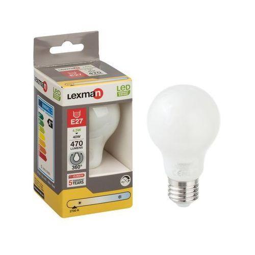 Żarówka LED E27 (230 V) 4.5 W 470 lm Ciepła biel LEXMAN (3276000389262)