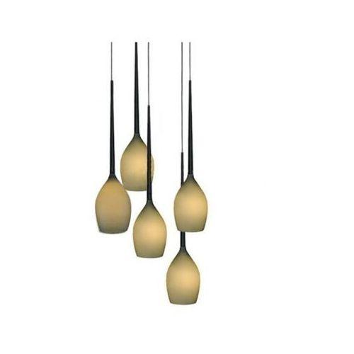 Azzardo lampa wisząca IZZA oliwkowy MD 1288A-5M, MD 1288A-5M