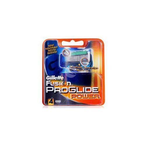 fusion proglide power (m) wkład do maszynki do golenia 4szt marki Gillette