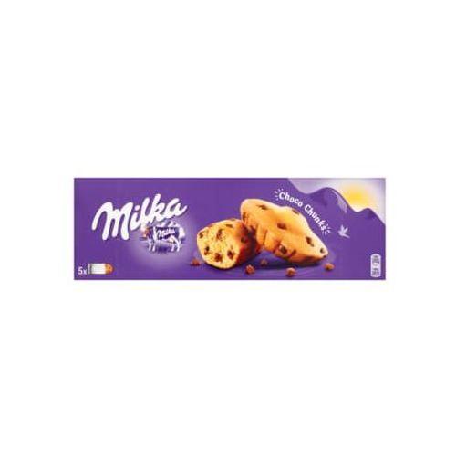 140g choco chunks ciastka biszkoptowe z kawałkami czekolady mlecznej marki Milka