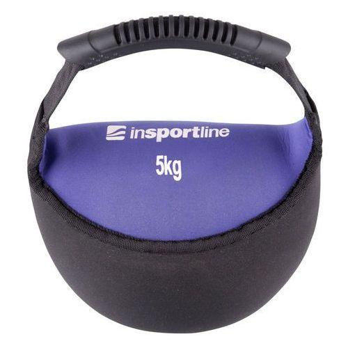 Hantla neoprenowa inSPORTline Bell-bag 5 kg
