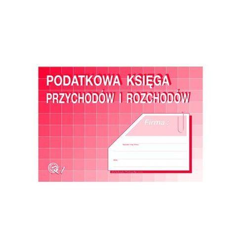 Podatkowa księga przychodów i rozchodów a4 k-1 marki Michalczyk i prokop
