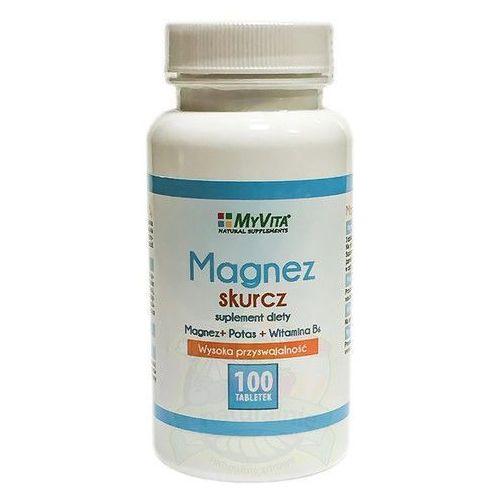 Magnez skurcz Magnez + Potas + B6 100 tabletek MyVita