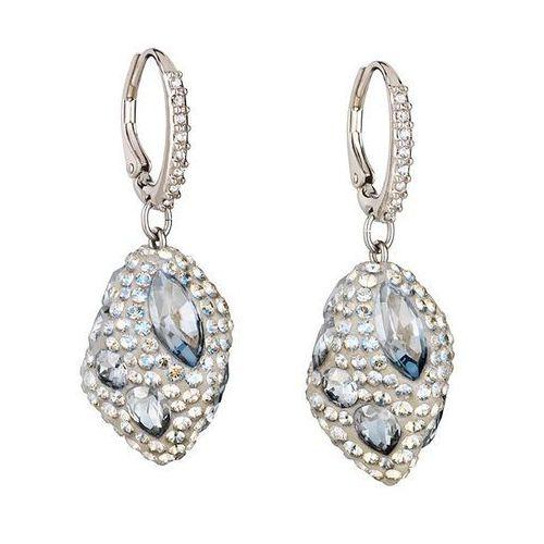 moselle drop pierced earrings, palladium plating white rhodium-plated, marki Swarovski