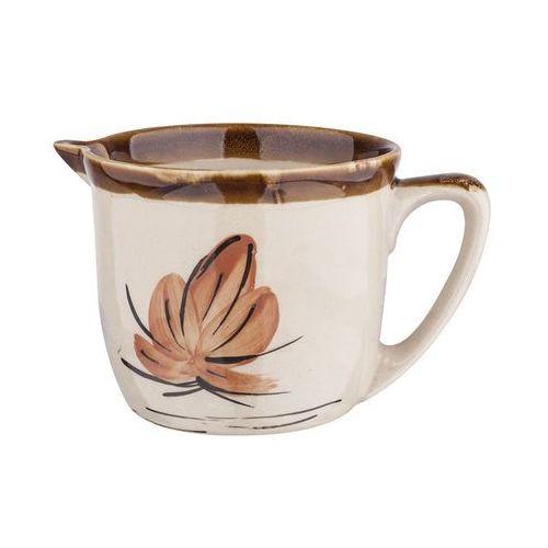 Rękodzieło Dzbanek ceramiczny malowany 1 l perfect home (5906651043050)
