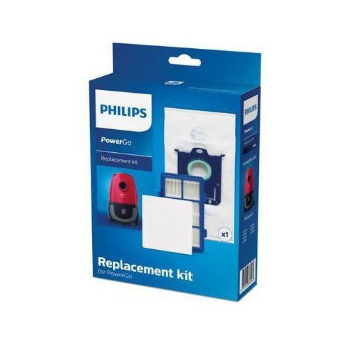 Philips zestaw z filtrami oraz workiem power go fc8001/01 (8710103861560)