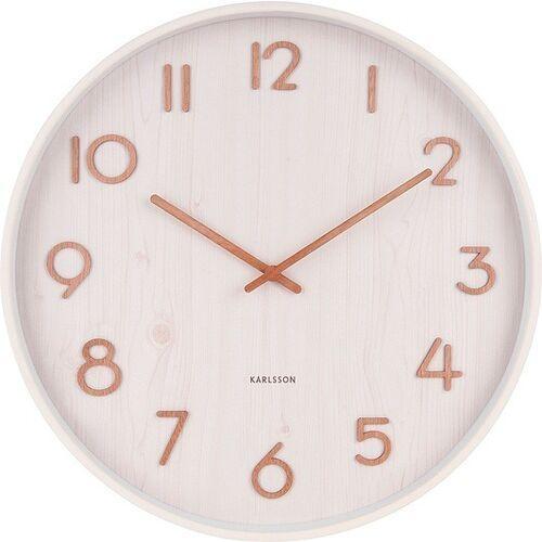 Karlsson Zegar ścienny pure duży biały