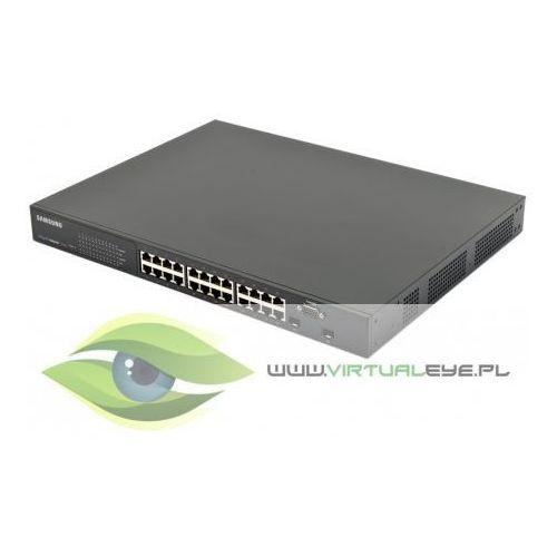 Switch przemysłowy gigabit z poe  ies4024gp od producenta Samsung