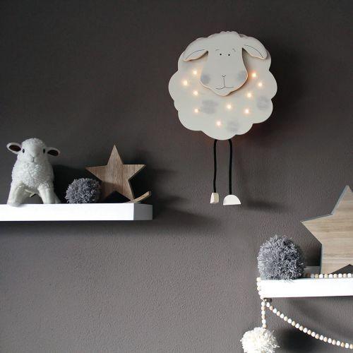 Steinhauer kids lampa ścienna biały, 10-punktowe - nowoczesny - obszar wewnętrzny - kids - czas dostawy: od 10-14 dni roboczych (8712746075595)