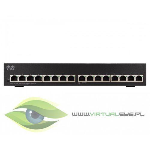 Sg110-16 switch 16x1gbe marki Cisco