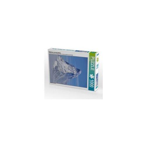 Matterhorn und die Wolken, 1000 Teile